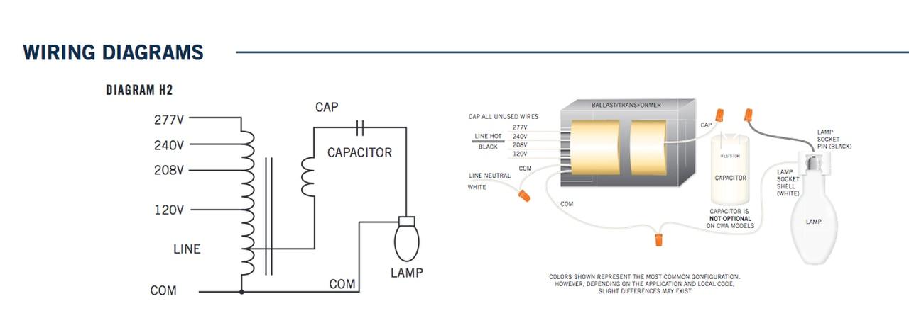 metal halide 208 wiring diagram  schematic wiring diagram