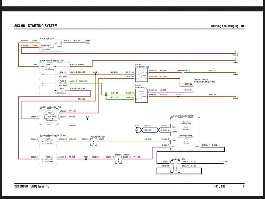defender 90 wiring diagrams dg 7077  land rover defender puma wiring diagram schematic wiring  land rover defender puma wiring diagram