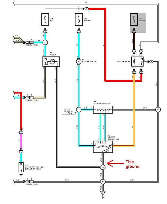 HX_0453] 91 Toyota Pickup Wiring Diagram Grounds Download DiagramWww Mohammedshrine Librar Wiring 101