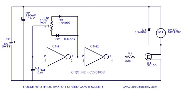 Outstanding Pwm Motor Speed Control Circuit With Diagram For Dc Motor Wiring Cloud Uslyletkolfr09Org