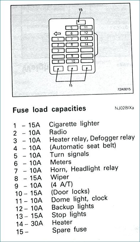 HC_7230] 1993 Mitsubishi Montero Fuse Box Diagram Schematic Wiring