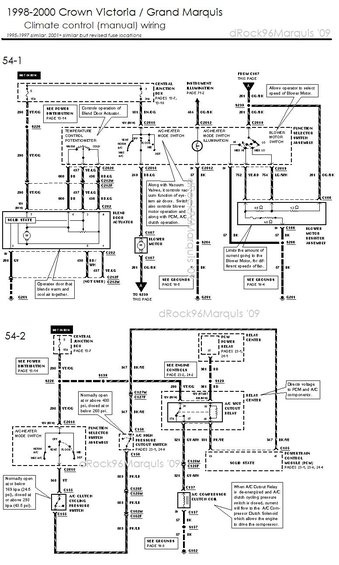 Terrific 1996 Mercury Grand Marquis Heater Wiring Diagram Diagram Data Schema Wiring Cloud Lukepaidewilluminateatxorg