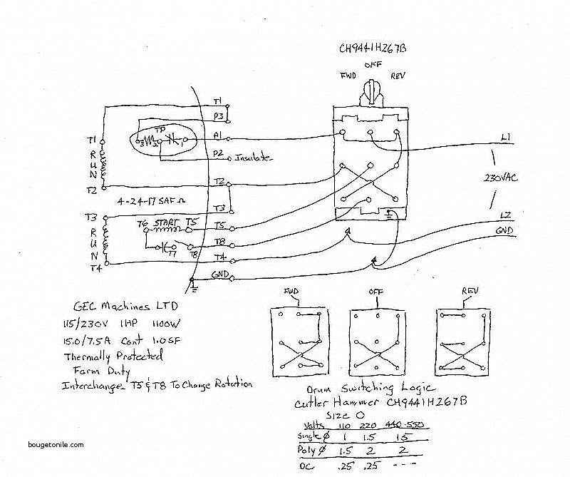 Hb 6612 Dayton Drum Reversing Switch Wiring Diagram