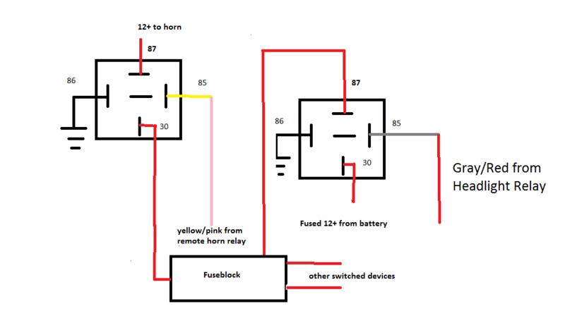 Xt 0815 5 Pin Horn Relay Diagram Download Diagram