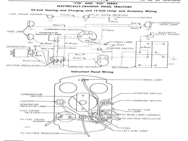 140 Farmall Wiring Diagram Regulator 12v | schematic and ...