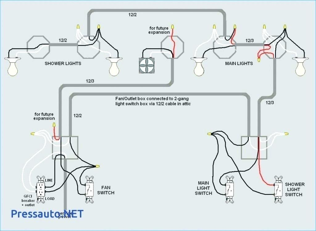 Wiring A Light Switch And Outlet Diagram Database