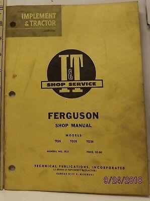 AB_4409 Ferguson To 30 Wiring Diagram Schematic Wiring