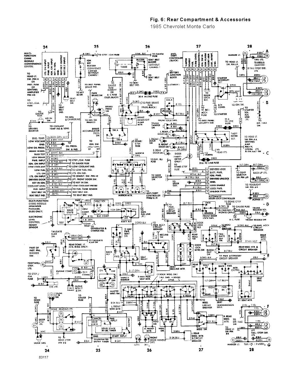 BK_4621] 1995 Monte Carlo Wiring Diagram Free DiagramMeric Benkeme Mohammedshrine Librar Wiring 101