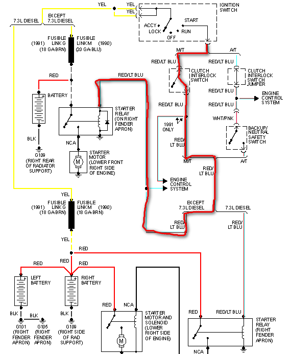 Mf 2813 1994 Ford F 150 Solenoid Switch Wiring Diagram Get Free Image About Wiring Diagram