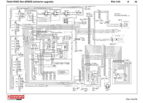 2009 kenworth w900 headlight wiring diagram t2000 ac wiring wiring diagram data  t2000 ac wiring wiring diagram data