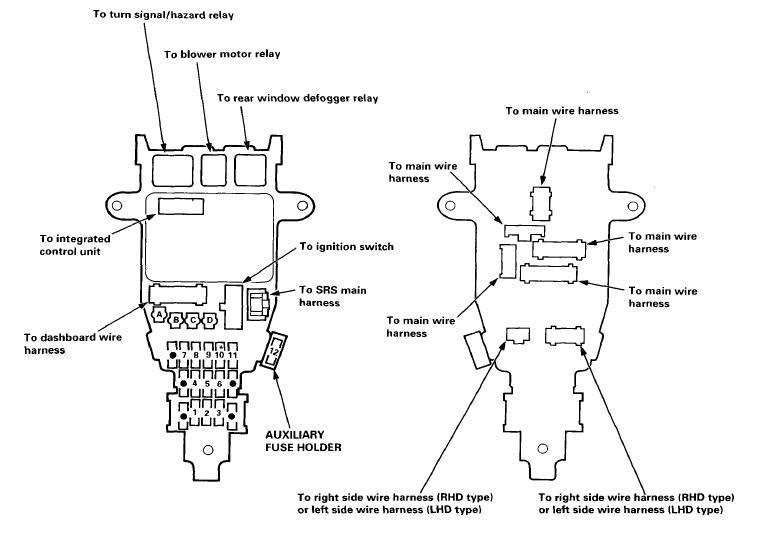 Admirable 00 Accord Fuse Box Wiring Diagram Wiring Cloud Genionhyedimohammedshrineorg