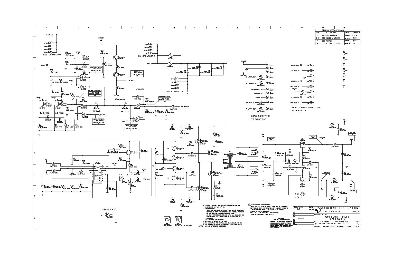 Rockford Fosgate P4004 Wiring Diagram
