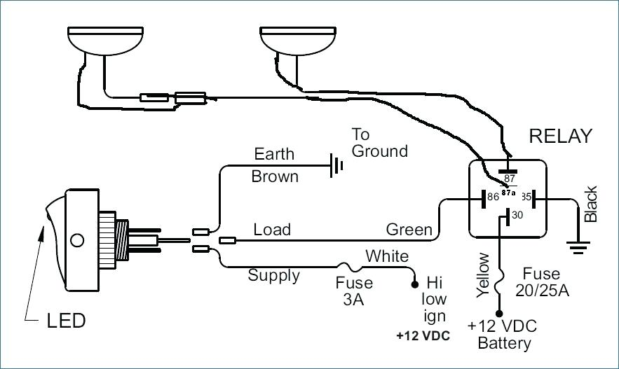 Piaa Driving Lights Wiring Diagram
