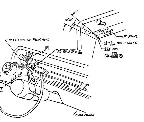 AD_0071] 67 Chevelle Tachometer Wiring Diagram Download Diagram