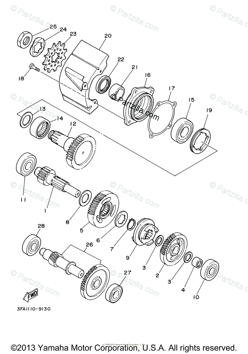 Remarkable Yamaha Grizzly 125 Wiring Diagram Wiring Diagram Featured Wiring Cloud Overrenstrafr09Org