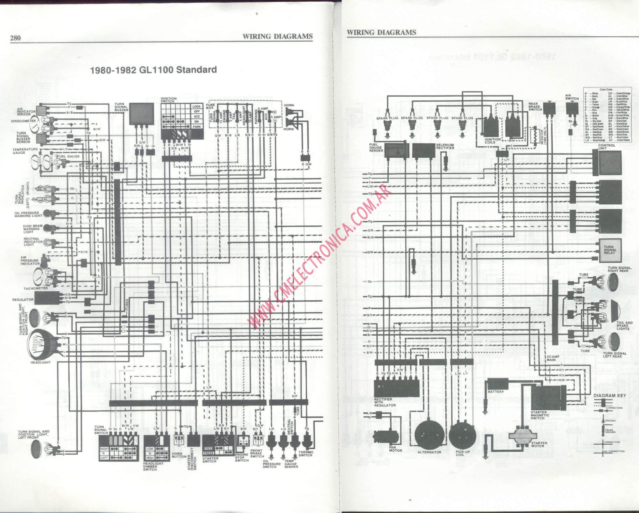 Excellent Wrg 4423 1993 Honda Goldwing Wiring Wiring Cloud Staixaidewilluminateatxorg