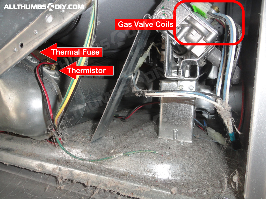 Awesome Whirlpool Duet Gas Dryer How To Fix Low Heat No Heat Problem Wiring Cloud Vieworaidewilluminateatxorg