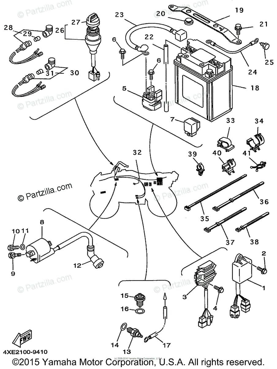 Wiring Diagram 2000 Yamaha Phazer