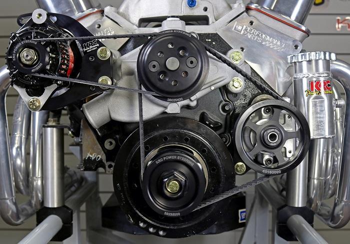 Enjoyable Krc Elite Series Power Steering Pump Sb Chevy Front Drive Kit Complete Wiring Cloud Grayisramohammedshrineorg