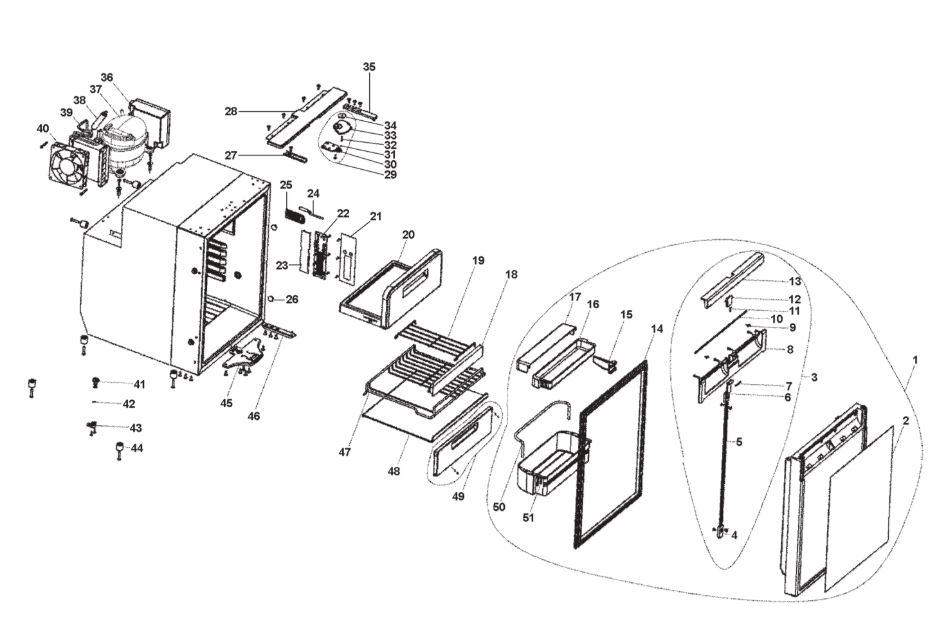 thetford fridge wiring diagram