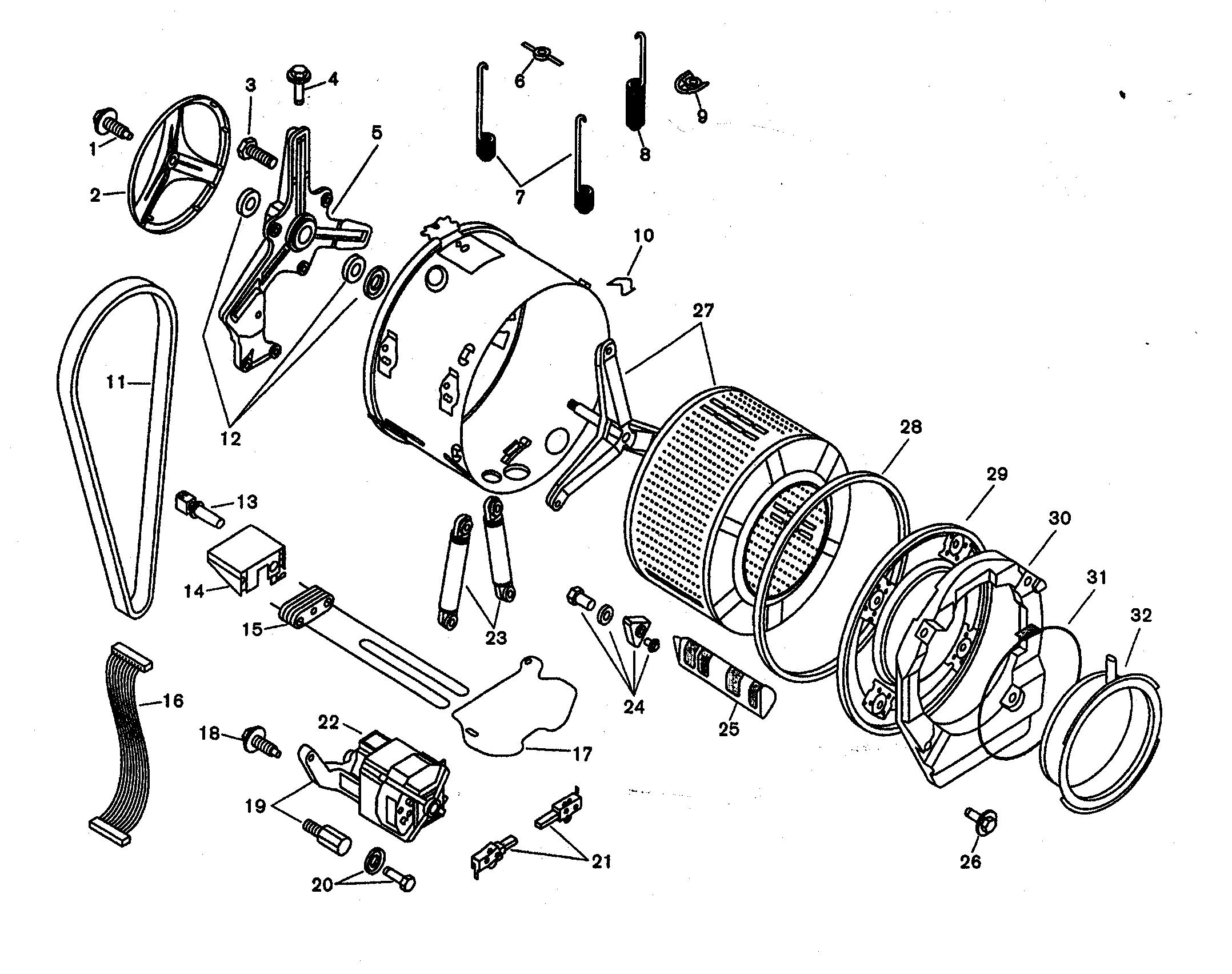 Rk 5268 Dryer Parts Diagram On Bosch Washing Machine Motor Wiring Diagram Free Diagram