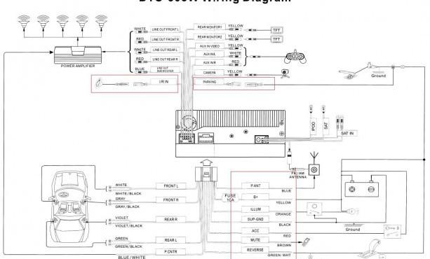 Subwoofer Wiring Diagram Sonic Electronix   Monoblock Amp