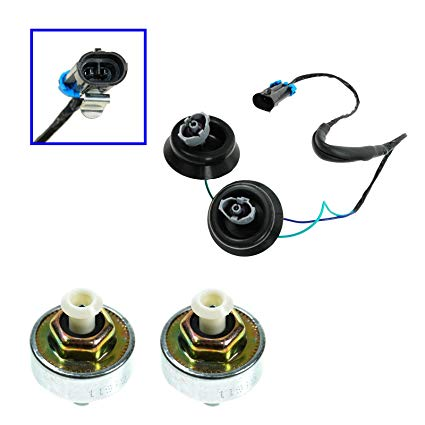 Fantastic Amazon Com Knock Sensor With Harness Pair Kit Set For Chevy Gmc Wiring Cloud Intelaidewilluminateatxorg