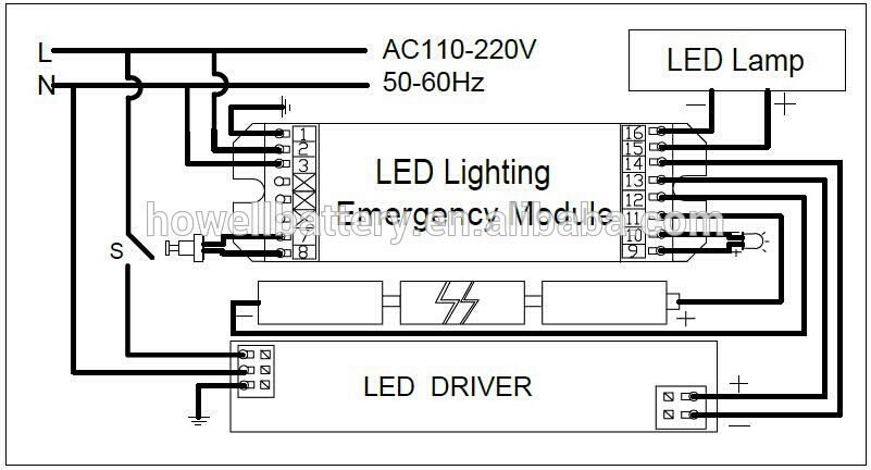 At 5538 Led Wiring Diagram On Fluorescent Emergency Ballast