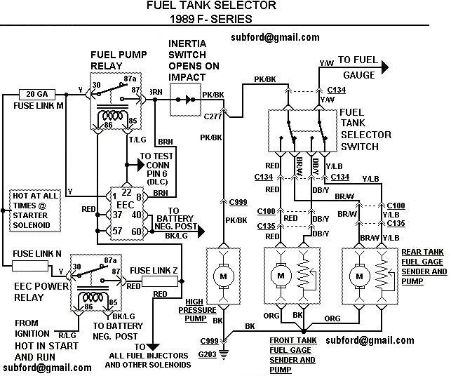 Astonishing F250 Fuel Pump Wiring Diagram Diagram Data Schema Wiring Cloud Monangrecoveryedborg