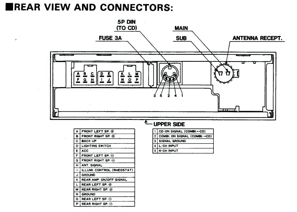 Nissan Xterra Stereo Wiring Diagram - Collection