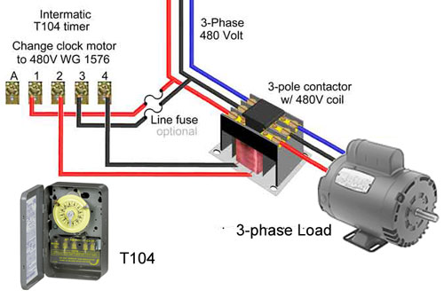 3 Phase Contactor Coil Wiring Diagram - Wiring Diagram