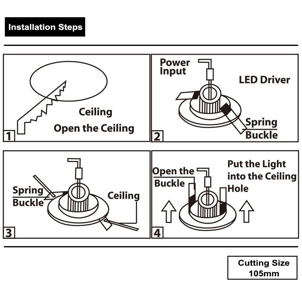 Wiring Diagram Led Recessed Lighting