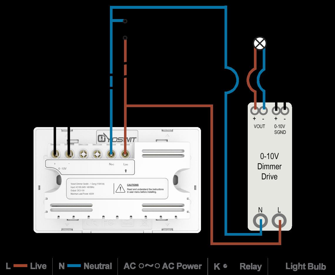 0 10v Dimming Ballast Wiring Diagram
