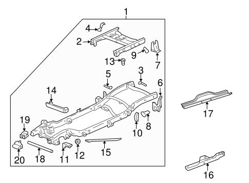 ry3884 2005 chevy silverado parts diagram free diagram
