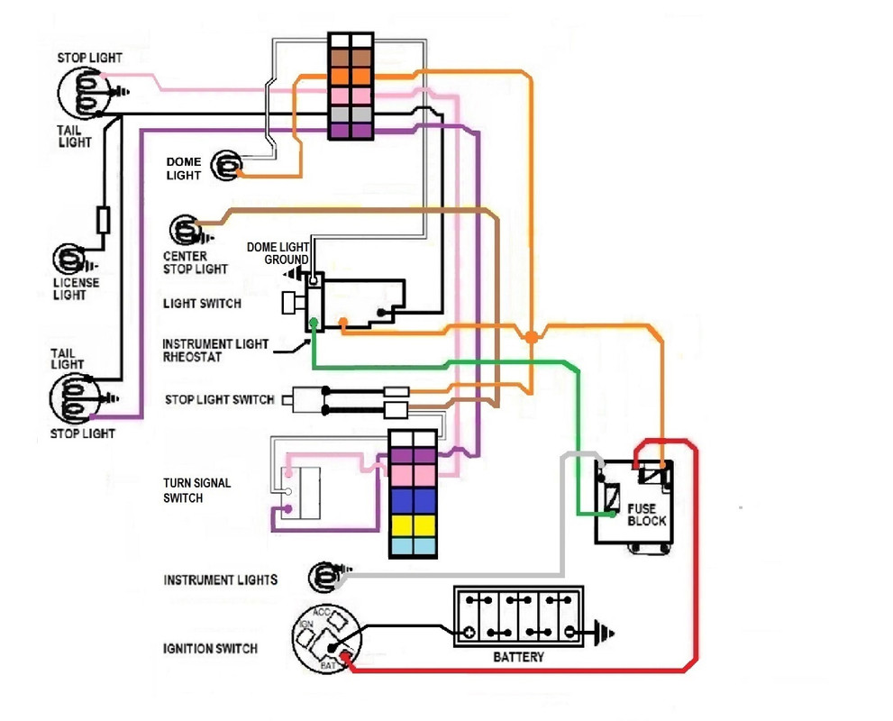 Diagram Universal Fused Headlight Switch Wiring Diagram Full Version Hd Quality Wiring Diagram Cyclediagram Pizzagege Fr