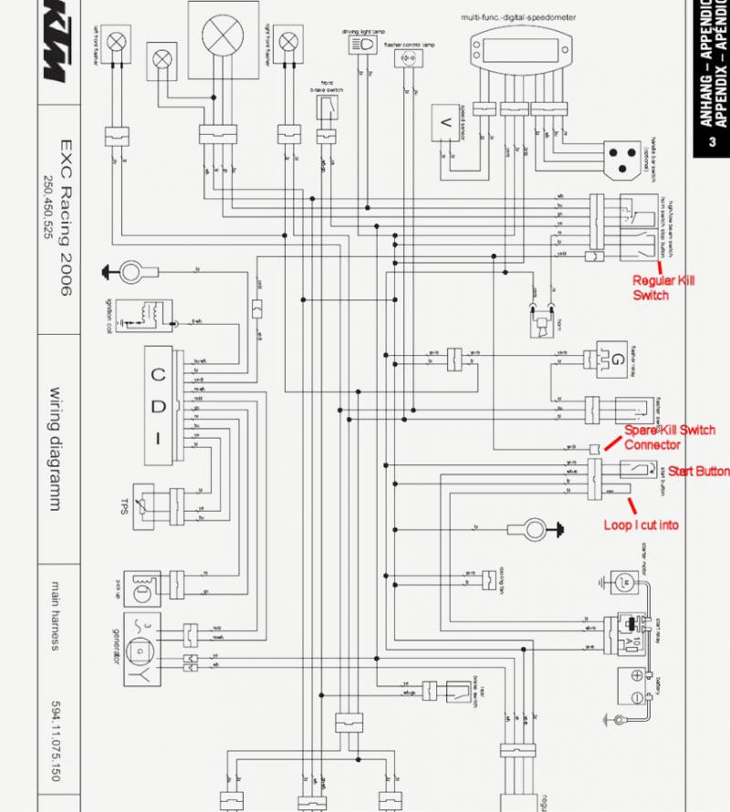 Oo 2137 Ktm 525 Exc Wiring Diagram Wiring Diagram