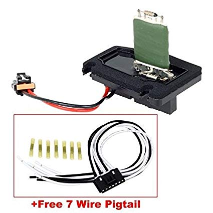 Strange Amazon Com Partssquare Hvac Blower Motor Resistor 1213510 With Wiring Cloud Mousmenurrecoveryedborg