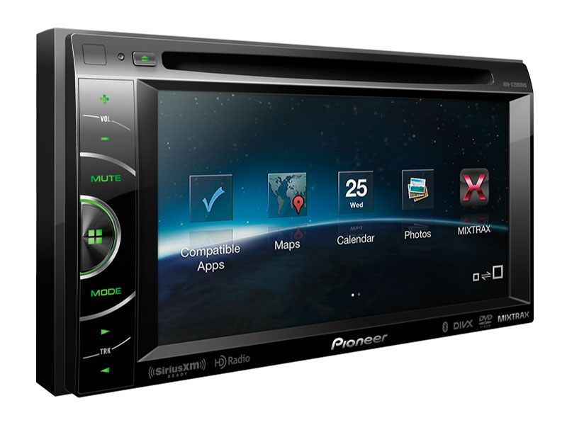 Marvelous Avh X3500Bhs 2 Din Multimedia Dvd Receiver With 6 1 Wvga Wiring Cloud Rdonaheevemohammedshrineorg