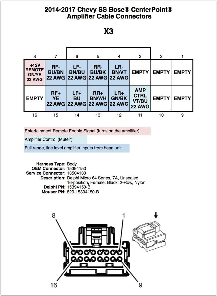 2008 Silverado Bose Wiring Diagram
