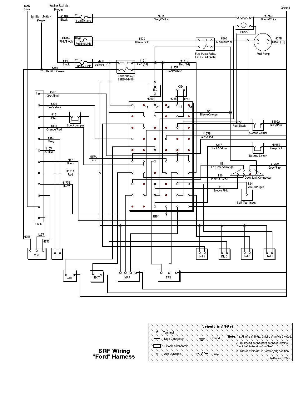 40CR 4401] Free Ford L40 Series Wiring Schematic   ground ...