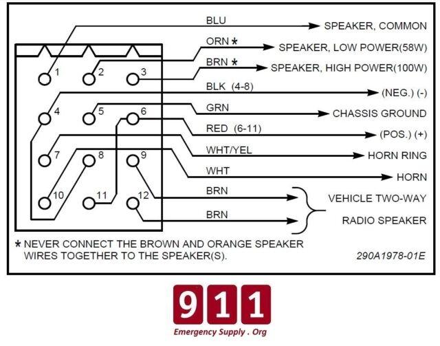 Federal Signal Pa300 Siren Wiring Diagram