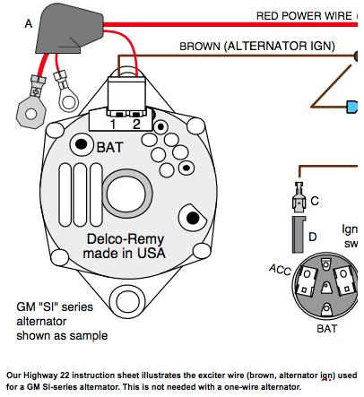 [GJFJ_338]  SZ_0553] Gm One Wire Gm One Wire Alternator Wiring Diagram Download Diagram   Delco One Wire Alternator Wiring Diagram      Xortanet Emba Mohammedshrine Librar Wiring 101