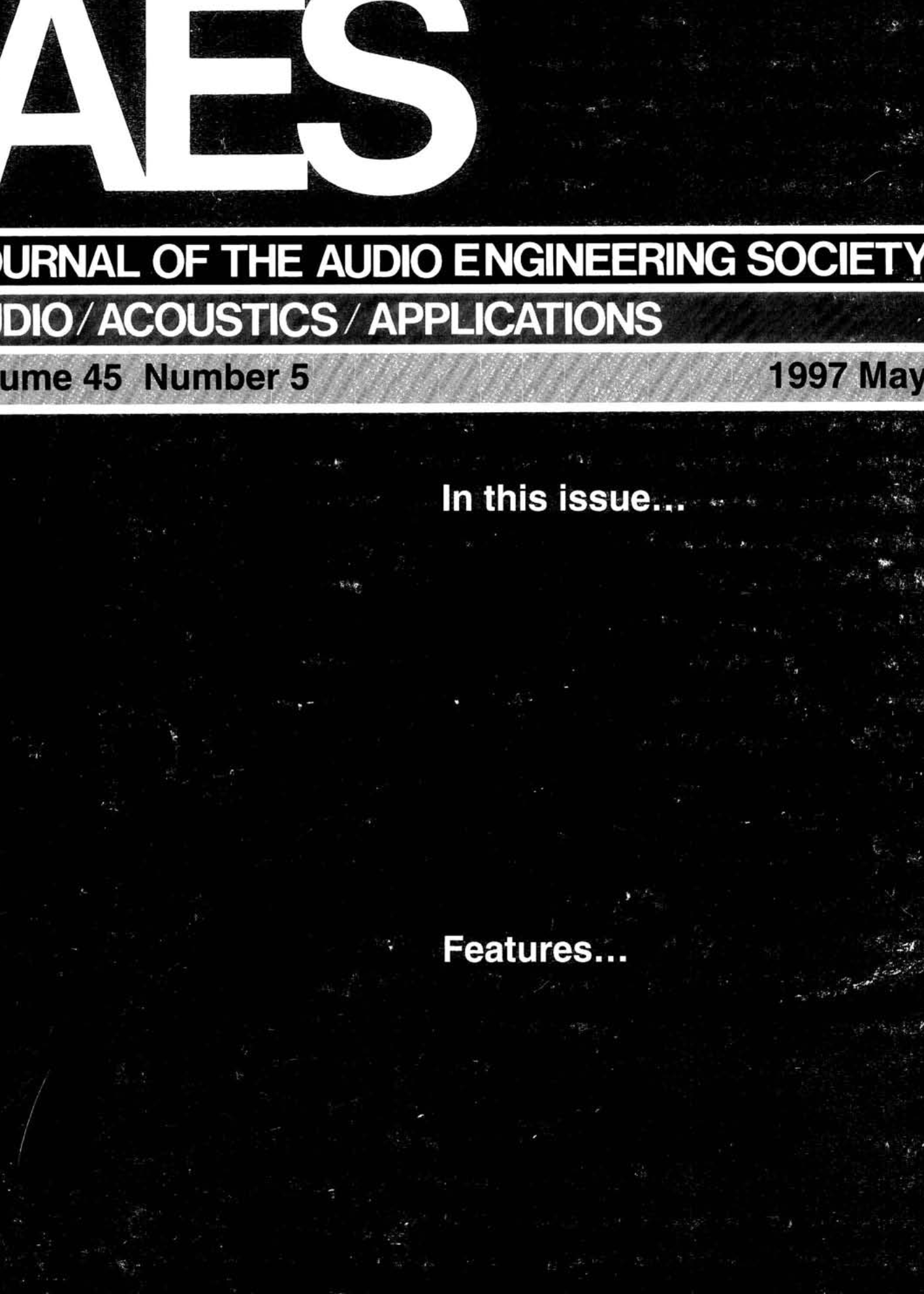 Pleasing Aes E Library Complete Journal Volume 45 Issue 5 Wiring Cloud Ittabisraaidewilluminateatxorg