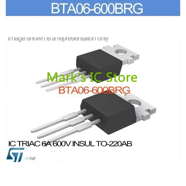 Groovy Bta06 600Brg Ic Triac 6A 600V Insul To 220Ab Bta06 600B 06 60 Bta06 Wiring Cloud Loplapiotaidewilluminateatxorg