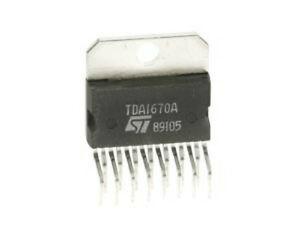 Fantastic Tda1670A Stmicroelectronics Integrated Circuit Ebay Wiring Cloud Loplapiotaidewilluminateatxorg