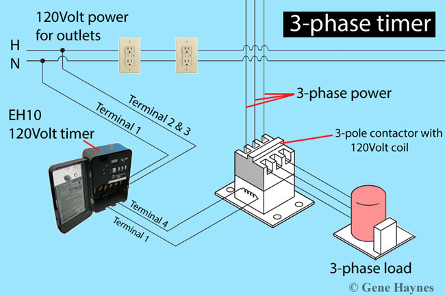 Outstanding How To Install 3 Phase Timer Wiring Cloud Eachirenstrafr09Org