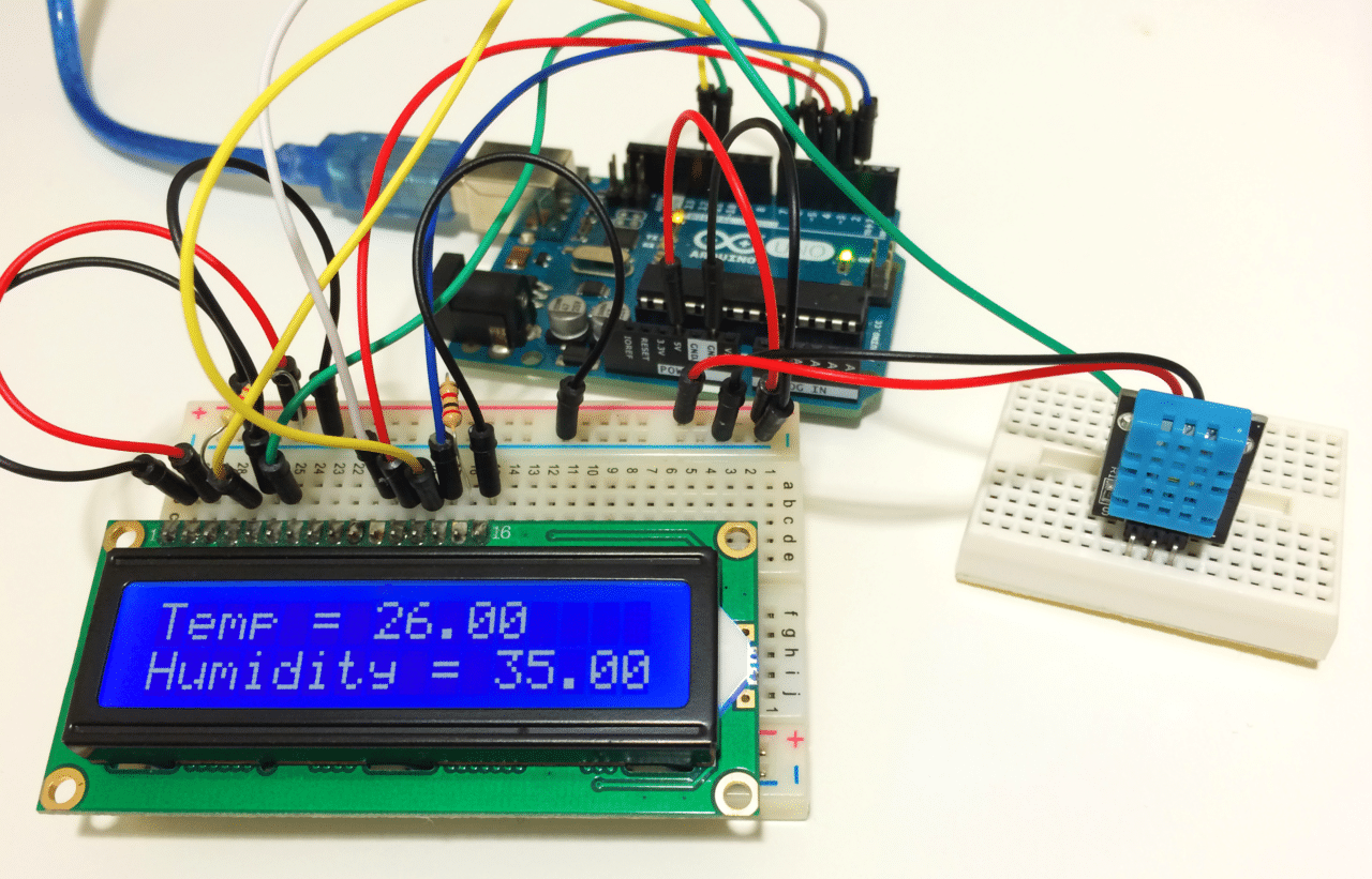 Strange How To Set Up The Dht11 Humidity Sensor On An Arduino Wiring Cloud Uslyletkolfr09Org