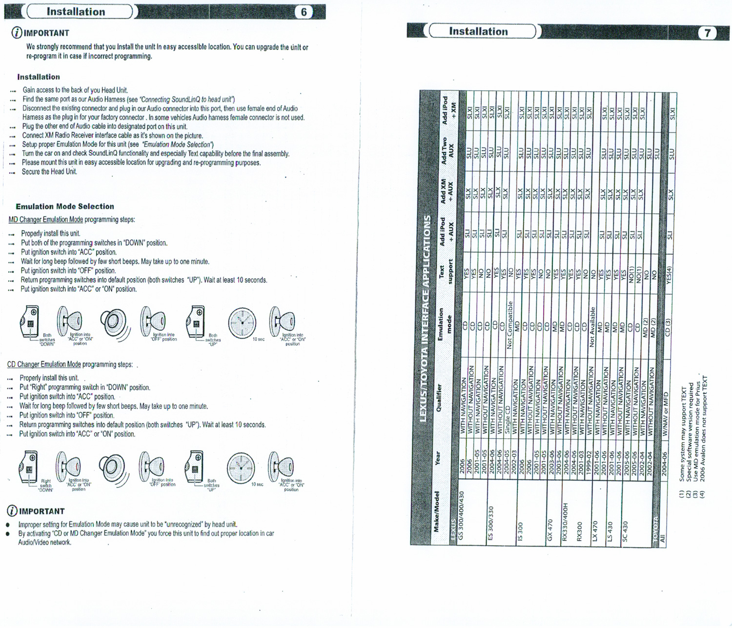 2004 Lexus Is300 Radio Wiring Diagram
