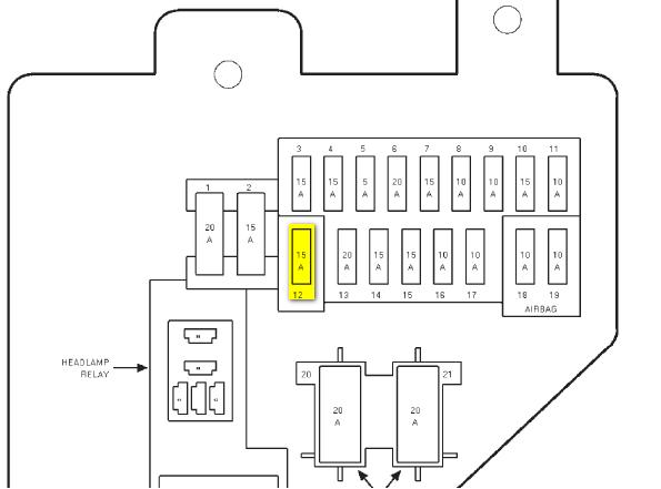 Fy 1248 Grand Cherokee Fuse Diagram On 2000 Dodge Ram Radio Wiring Diagram Download Diagram