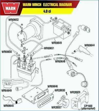 zx7390 warn winch wiring diagram control panel wiring